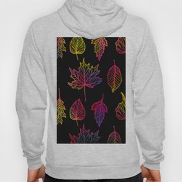 Colorful Autumn Leaf Hoody