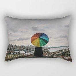 Colors in Istanbul, Turkey Rectangular Pillow