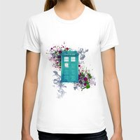 doctor who T-shirts featuring Doctor Who by Laain Studios