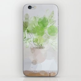Eucalyptus Green Leaves iPhone Skin