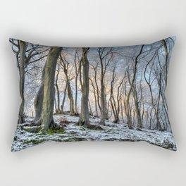 Twisted Beech - II Rectangular Pillow