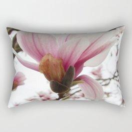 magnolia ice Rectangular Pillow