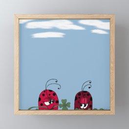 A Clover For My Lover Framed Mini Art Print