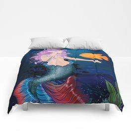 Pacific Mermaid Comforters