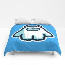 Kawaii Cute Abominable Snowman Yeti Comforters