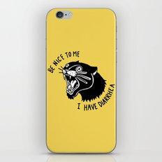 Panther Poop iPhone & iPod Skin