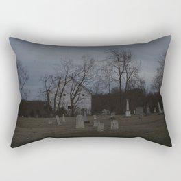 Little Cemetery on the Hill 1 Rectangular Pillow