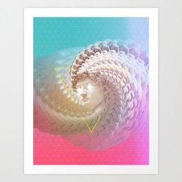 David in love Art Print