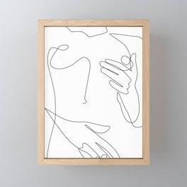 Sensual Erotic Framed Mini Art Print
