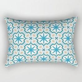 Seamless geometric arabesque oriental pattern. Rectangular Pillow