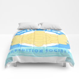 Lively Town Expedition Society Comforters