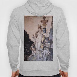 """Gustave Moreau """"Fée aux griffons (grisaille)"""" Hoody"""