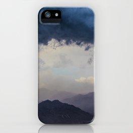 Blue Storm iPhone Case