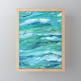 Sea Foam Framed Mini Art Print