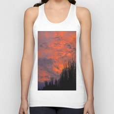 August Sunset Unisex Tank Top