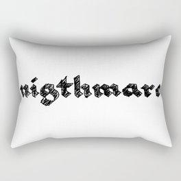 nigthmare Rectangular Pillow