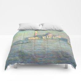 San Giorgio Maggiore 3 by Claude Monet Comforters