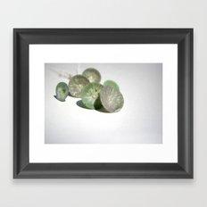 Retina bouquet Framed Art Print