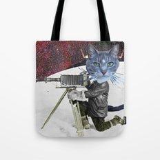 Cat Explorer Tote Bag