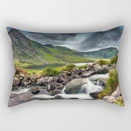 Tryfan and Ogwen Lake Rectangular Pillow