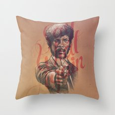 Say What Again Throw Pillow