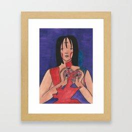 All of Me Framed Art Print