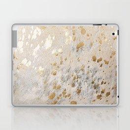 Gold Hide Print Metallic Laptop & iPad Skin
