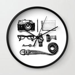 Tiny traveler Wall Clock