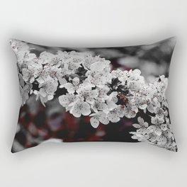 FLOWERS - BLOOM - NATURE - PHOTOGRAPHY Rectangular Pillow