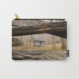 Smoky Mountains Cabin Carry-All Pouch