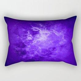 Dark Blue Interstellar Dust Rectangular Pillow