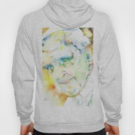POPE FRANCIS - watercolor portrait.2 Hoody