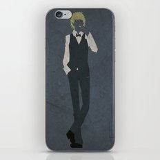 Shizuo Heiwajima iPhone & iPod Skin