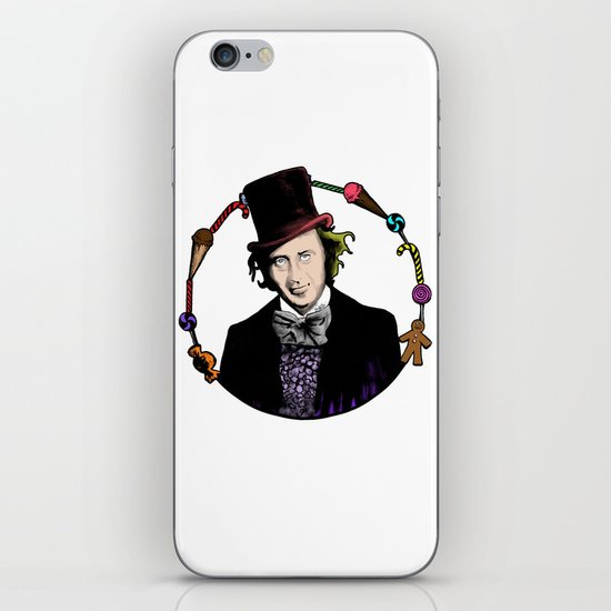 Merry Christmas From The Chocolate Factory iPhone & iPod Skin