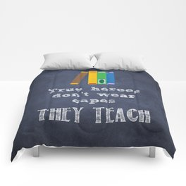 They Teach | Teacher Appreciation Comforters