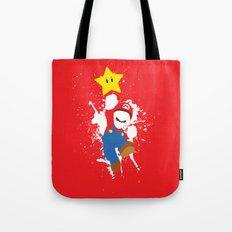 Mario Paint Tote Bag