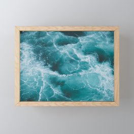 Electric Ocean Framed Mini Art Print
