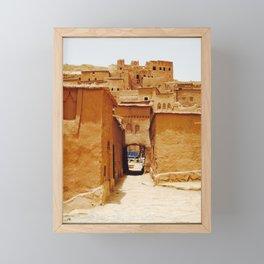 The Ancient City of Ait Benhaddou Framed Mini Art Print