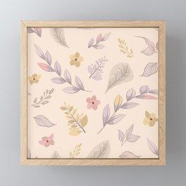 Flower Design Series Framed Mini Art Print