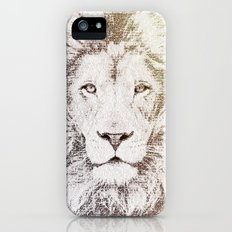 The Intellectual Lion Slim Case iPhone (5, 5s)