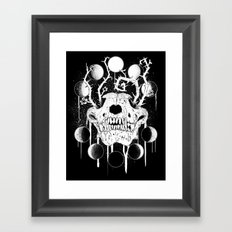 Wings of Sin Collaboration Framed Art Print
