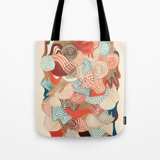 Melting time Tote Bag