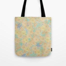 Antique Floral Good Old Days (plain) Tote Bag