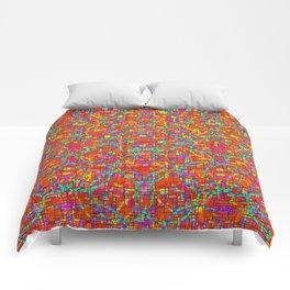 Verre Colore Pattern Comforters