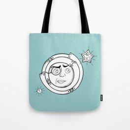 Motor Moon Tote Bag