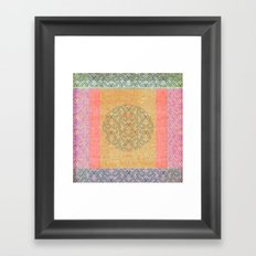 Coral Melody Framed Art Print