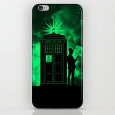 tardis doctor who iPhone & iPod Skin