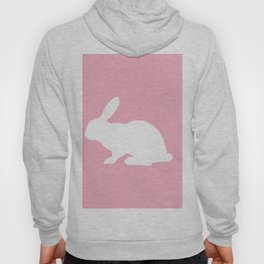 Silhouette of Bunny Hoody