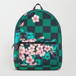Japanese art, cherry blossoms  Backpack