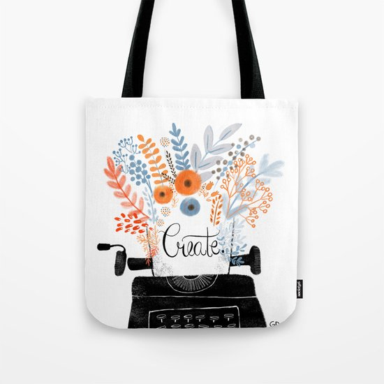 Create | Typewriter Tote Bag